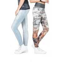 Legging Fusô Live Dupla Face Asian Tiger