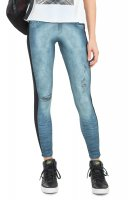 LEGGING JEANS MIX AND MATCH LIVE tamanho:P;cor:Azul Jeans