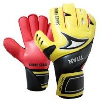 Luva Three Stars Titan - Latex Corte Rollfinger