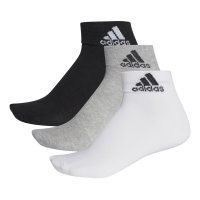 Meia Adidas Ankle Mid Thin - 3 Pares