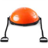 Meia Bola de Exercícios Hidrolight Laranja