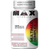 MULTIMAX COMPLEX MAX TITANIUM - 90 CAPSULAS