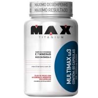 Multimax Max Titanium ômega 3  60 Caps