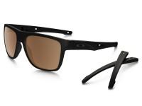 Óculos Oakley Crossrange Matte Black - Prizm Tungsten Polarized