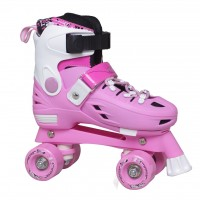 Patins Hyper Sports Quad Mod 806 Rosa