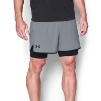 Shorts Under Armour Qualifier 2 Em 1