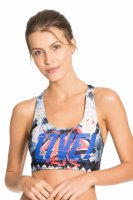 Top Live Leaf Print Swin