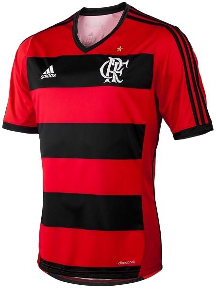 fba3a450e85ff6 Camiseta Adidas Flamengo I N 10 | Treino e Corrida