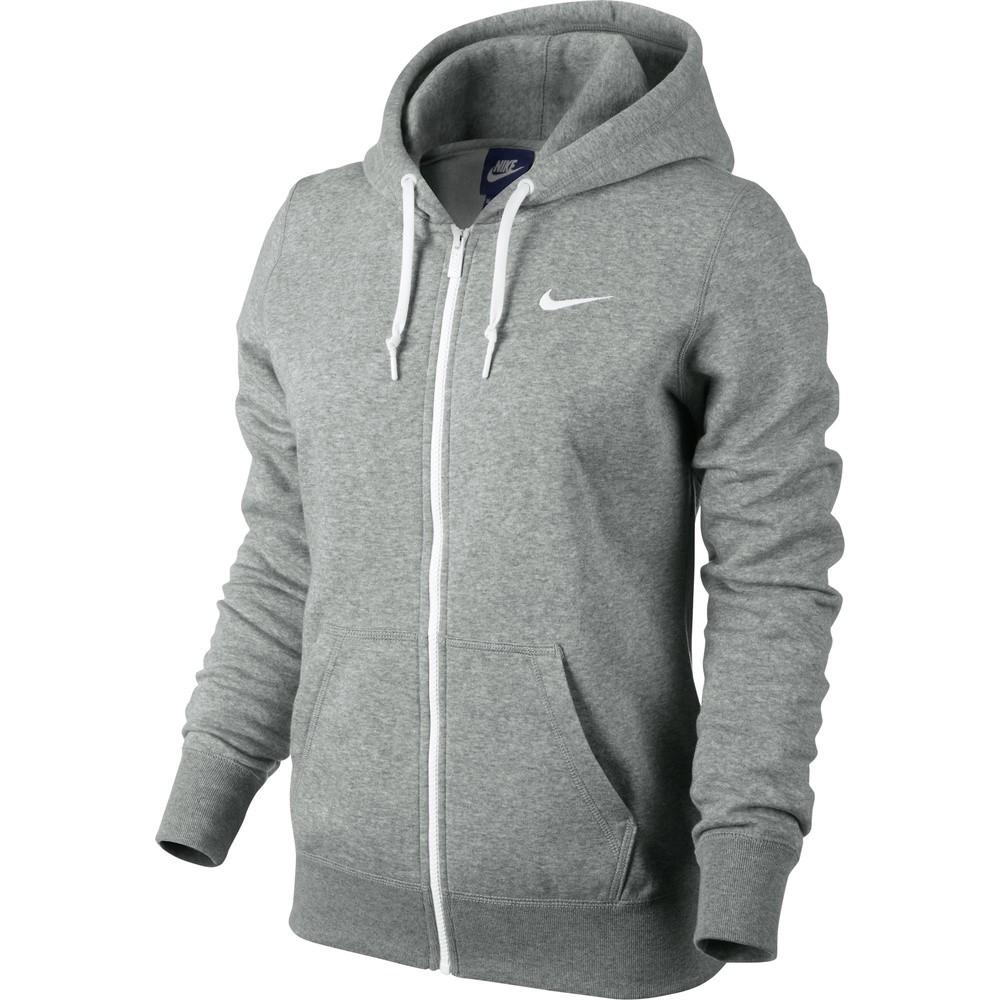 Blusão Nike FZ Club Hoody-Swoosh  10a25fafd97c6