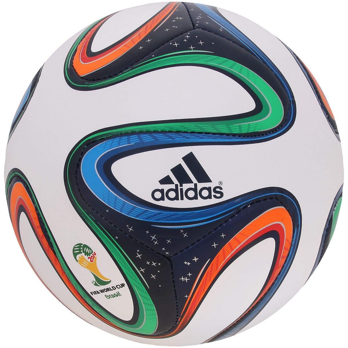Bola Adidas Brazuca WC 14 Glider Top ... 9a0c9593a7ed5