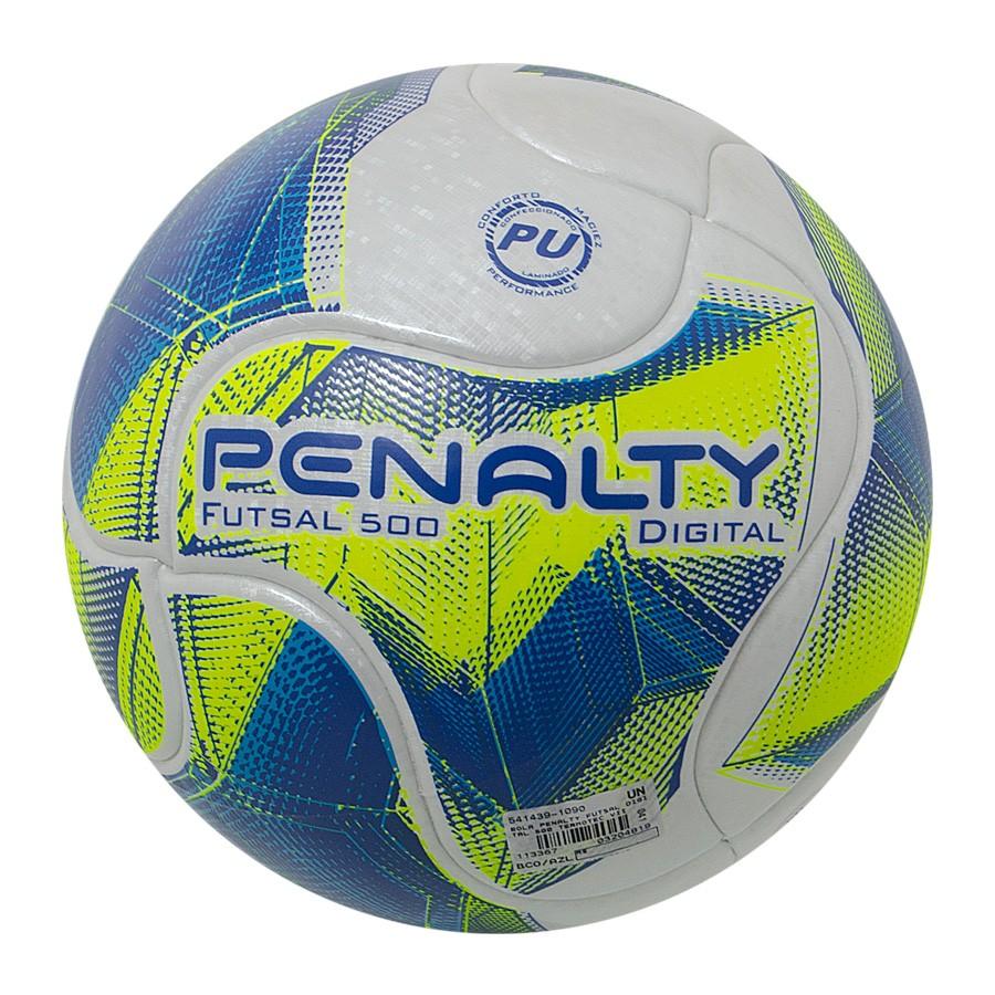 Bola Penalty Futsal Digital 500 Termotec 7 a6792983f6851