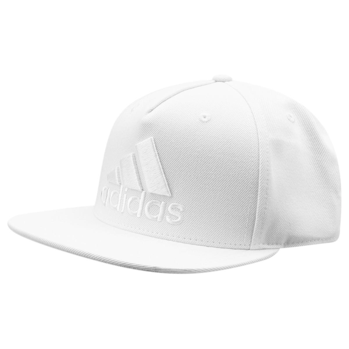 5e2bcdf555bb5 Bone Adidas Flat Cap Logo