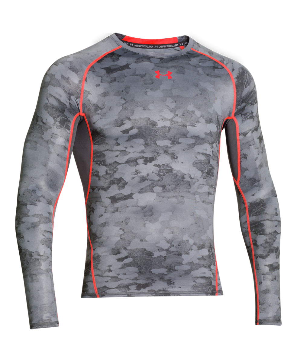 Camiseta Manga Longa Under Armour de Compressão HG Printed - Masculino  471245bb896d7