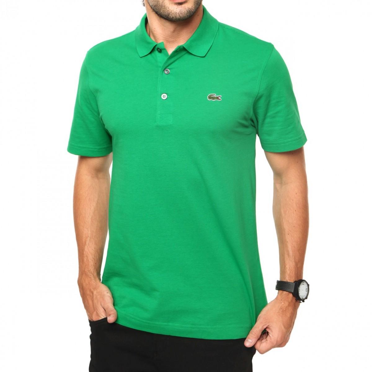 56e4ac92e8 Camisa Polo Lacoste Masculino