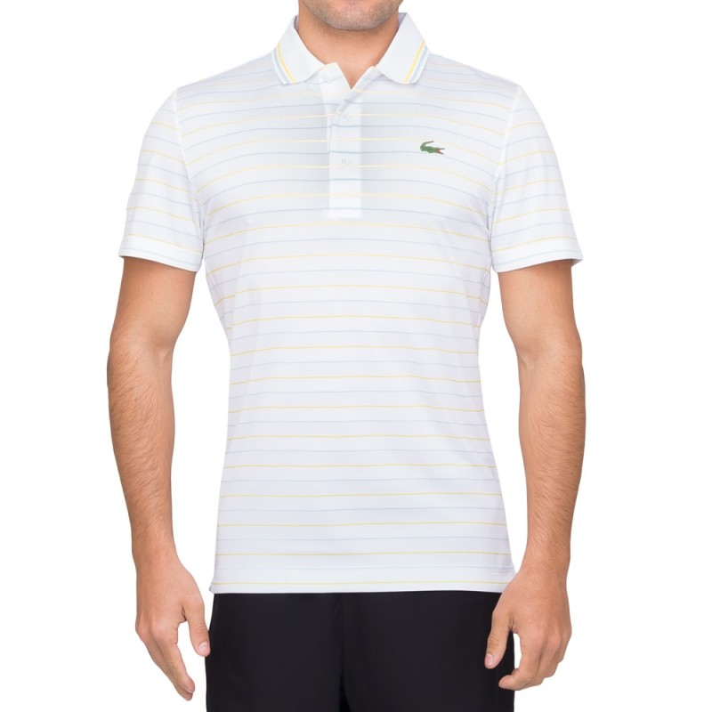 Camisa Lacoste Listrada Golf Performance bad21afd58