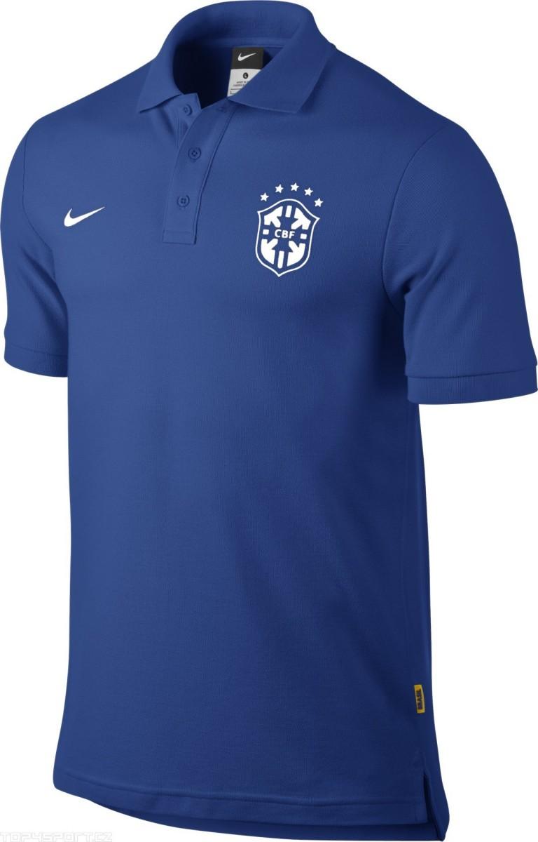 Camisa Polo Nike Manga Curta Matchup CBF  98a3b4ed2e7d3