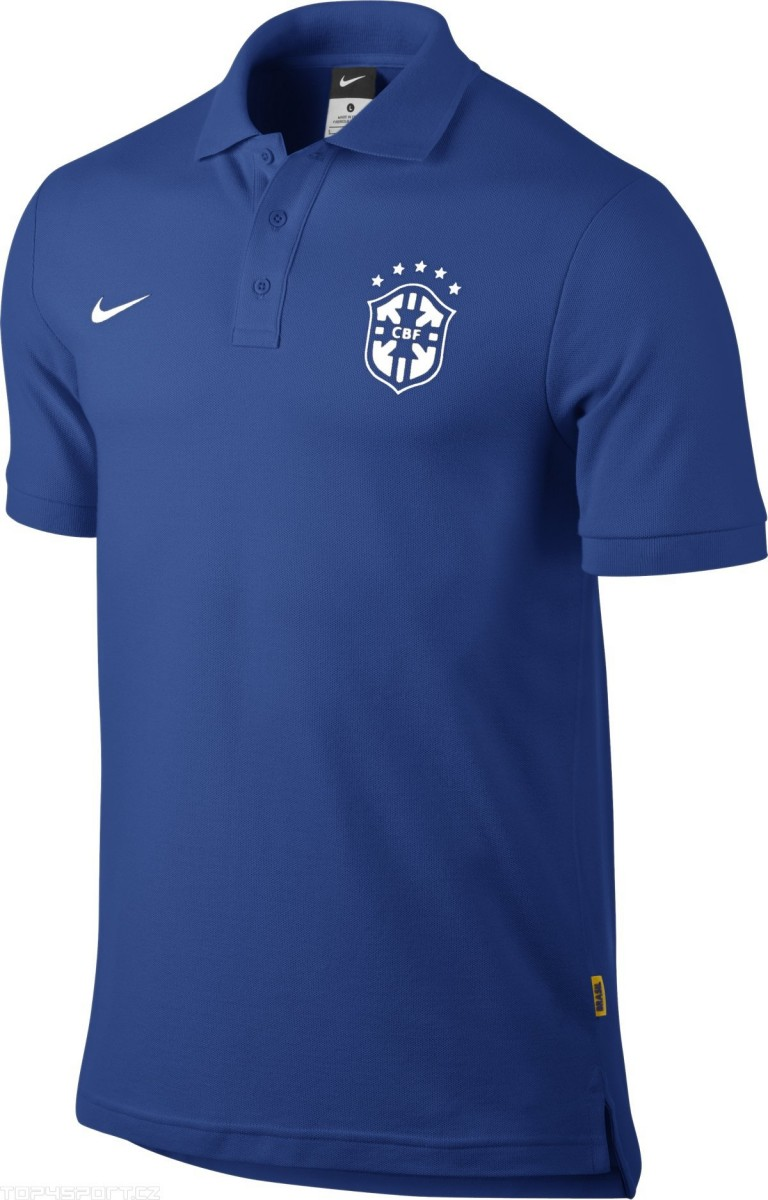 8ae616b9fd Camisa Polo Nike Manga Curta Matchup CBF
