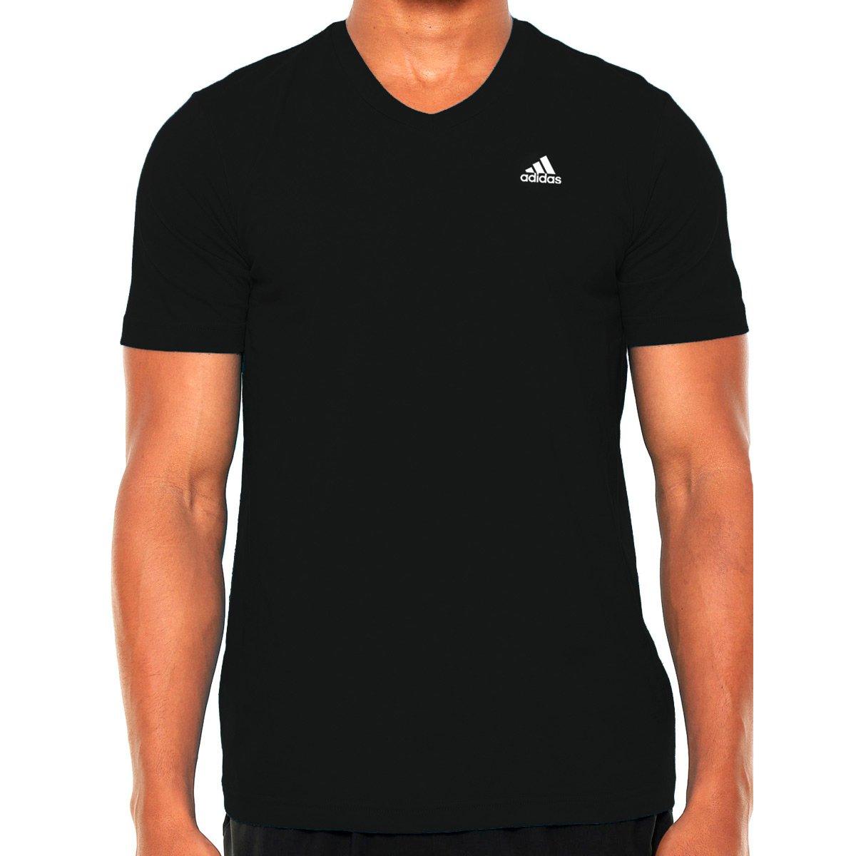 102f5aea4 Camiseta Adidas V Tee Essentials
