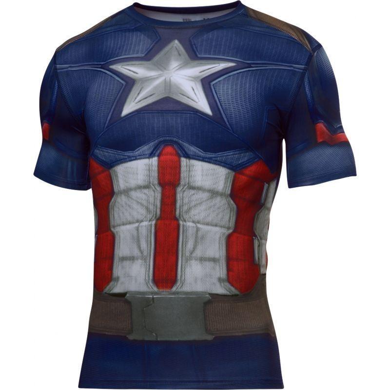 Camiseta Under Armour Capitão America Suit