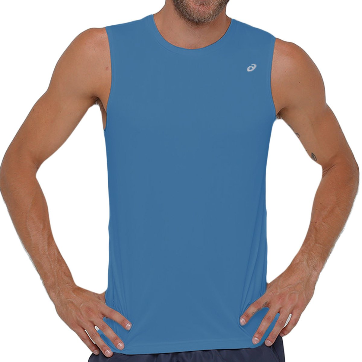 Camiseta Regata Asics Core Pes Tee  54aa22fab4f