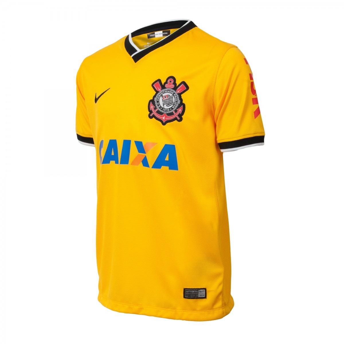 d592c458f3 Camiseta Nike Manga Infantil Curta Corinthians