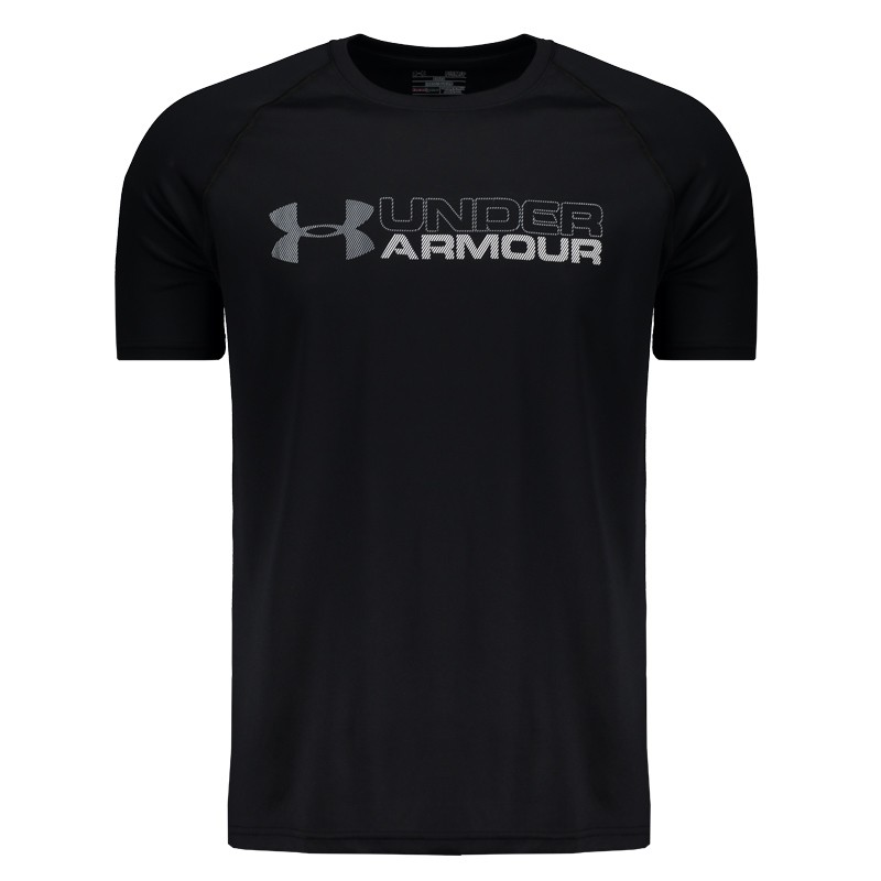2312caa65f0 Camiseta Under Armour Wordmark Brazil