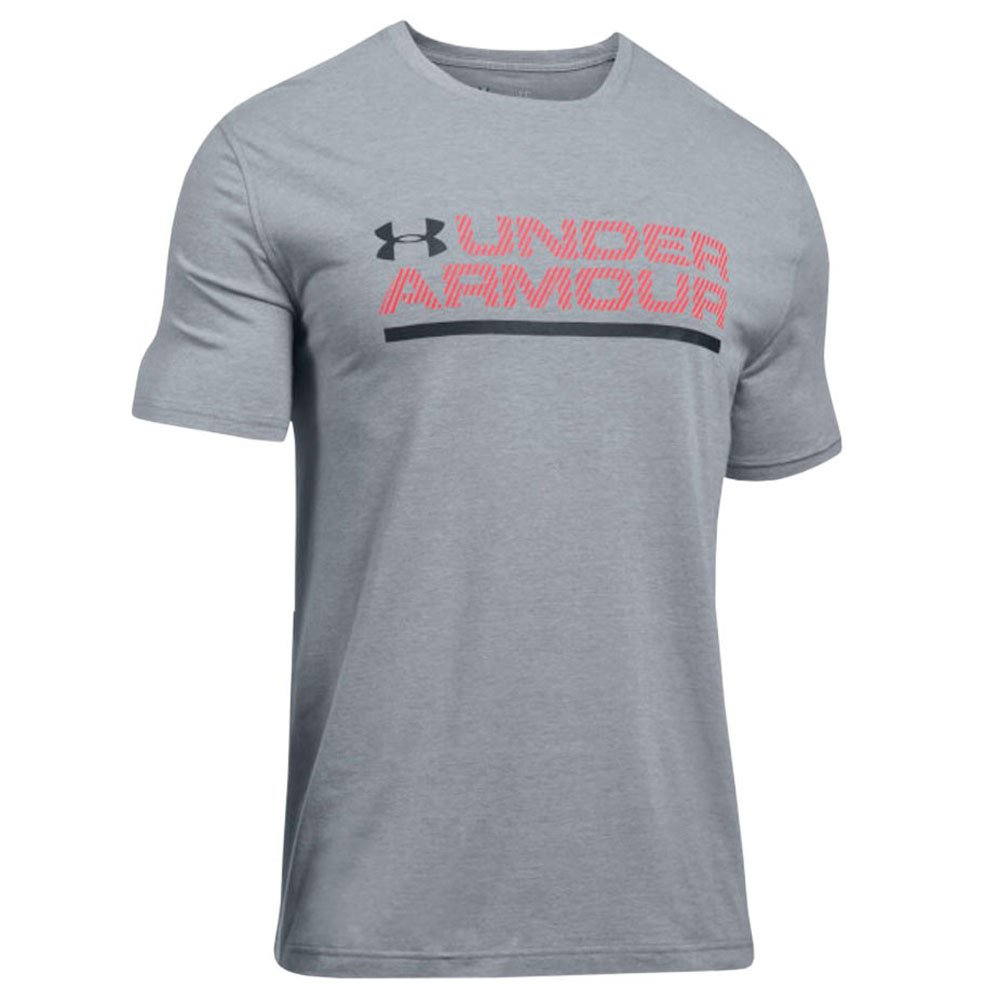 fe77ebbd352 Camiseta Under Armour Wordmark Luck Up Ss