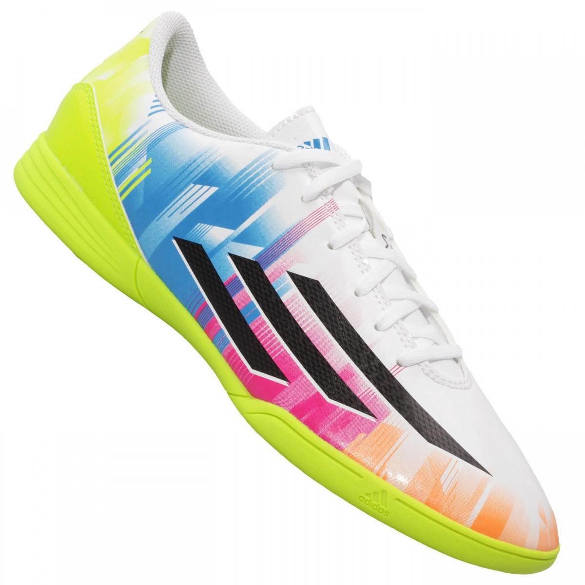 ba481ed228 Chuteira Adidas F5 IN Messi