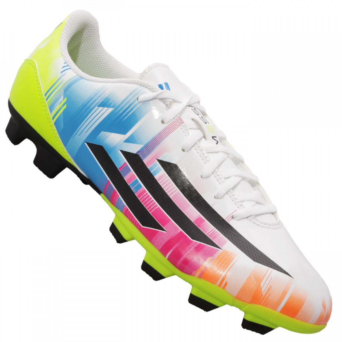 ecb2497c353 Chuteira Adidas F5 TRX FG Messi