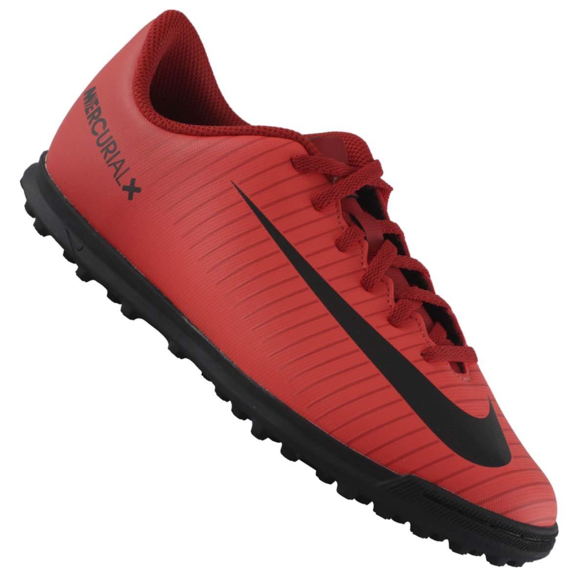 Chuteira Nike Jr Mercurial Vortex 3 TF Society  06975cb1e7cf9