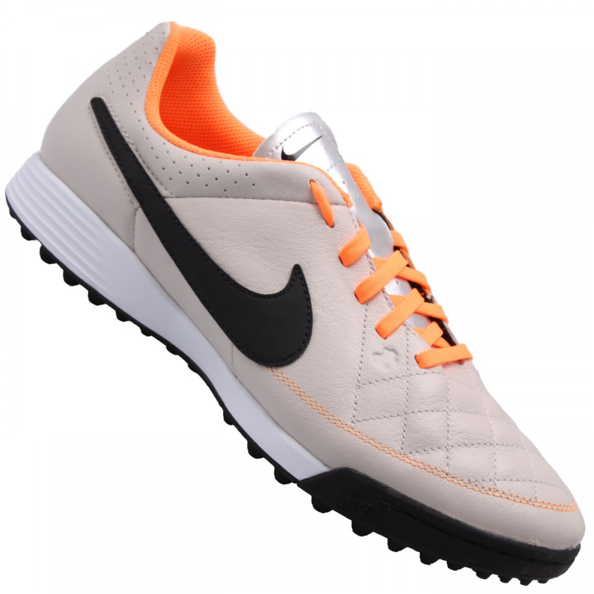 Chuteira Nike Tiempo Gênio Leather TF  40c60836e5397
