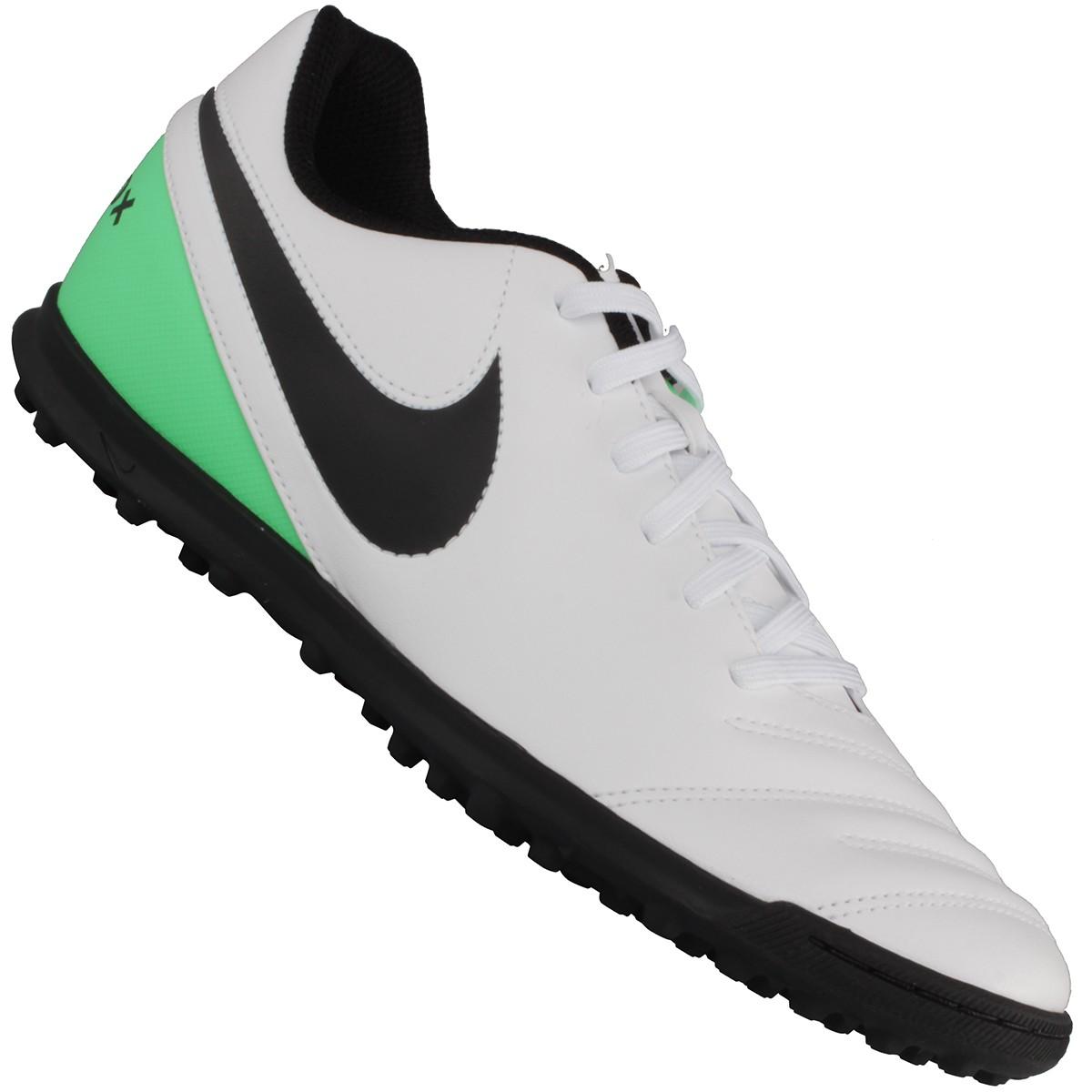Chuteira Nike Tiempo Rio 3 TF Society 761b6fc92908f