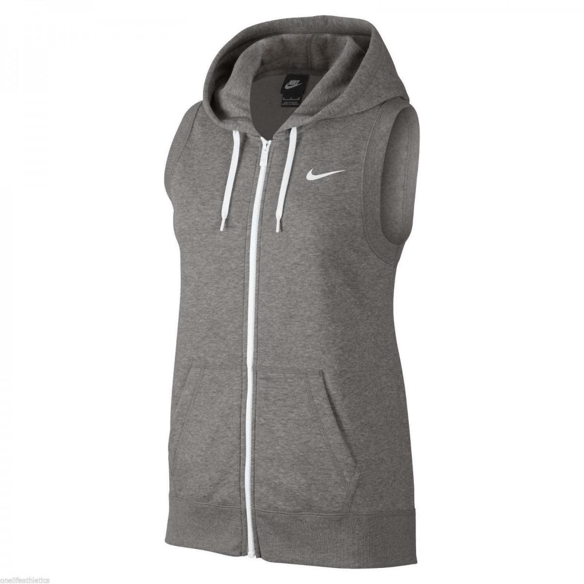 5ad74af92080d Colete Nike Club Fz - Feminino