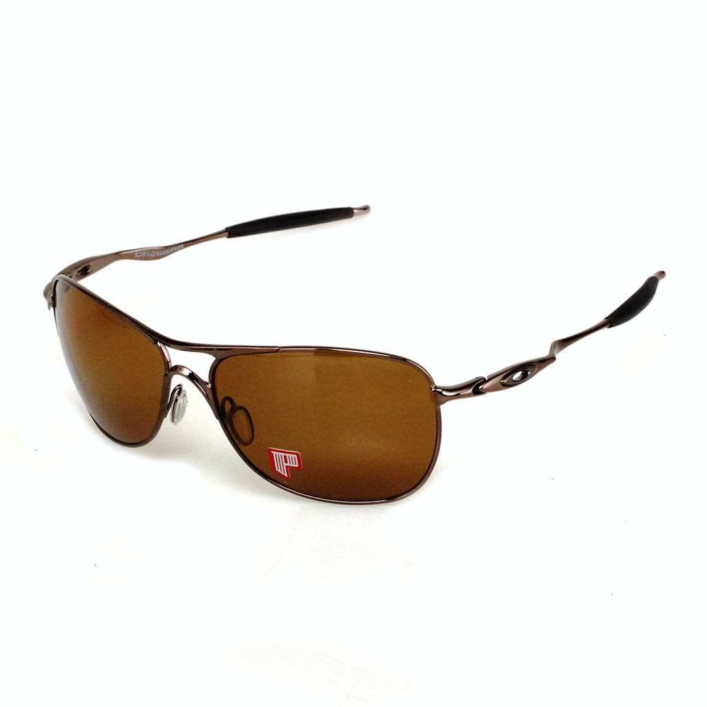 6698b5abac4 Óculos Oakley Crosshair Brown Chrome   Bronze Polarized.
