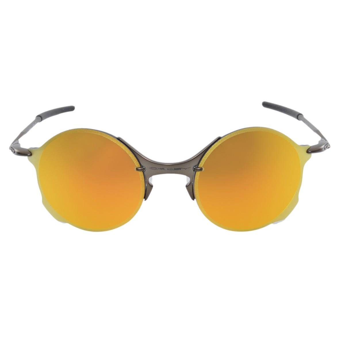 df29816819 Óculos Oakley Tailend Pewter Polarizado - Laranja e Amarelo