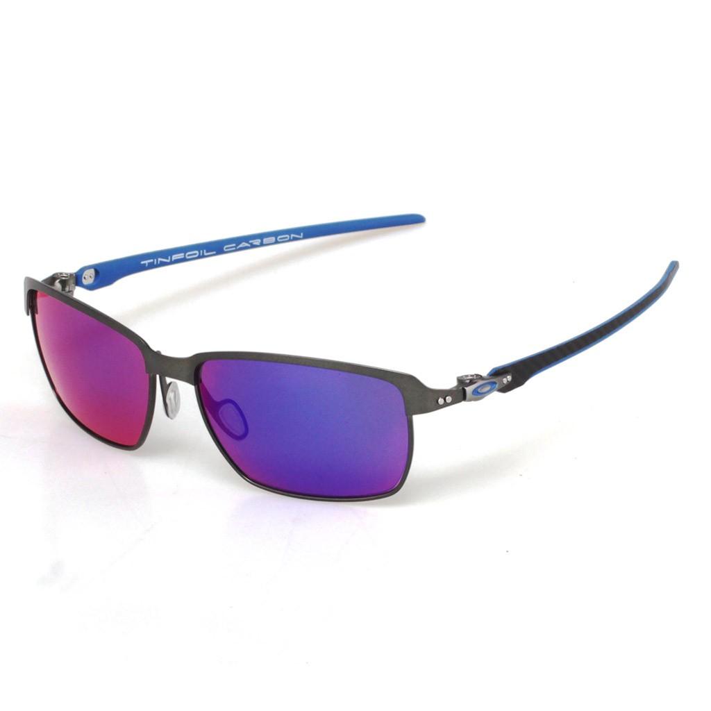 3c24030587 Óculos Oakley Tinfoil Carbon Crbn Crbn Iridium
