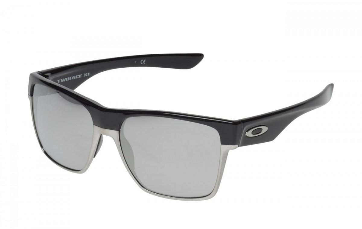 4d954f6e8f07b Óculos Oakley Two Face XL Polished Black
