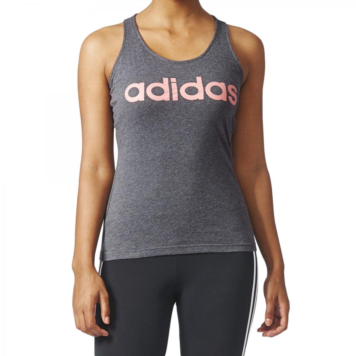 Regata Adidas Essentials Linear Slim Feminina  23204e00590a6