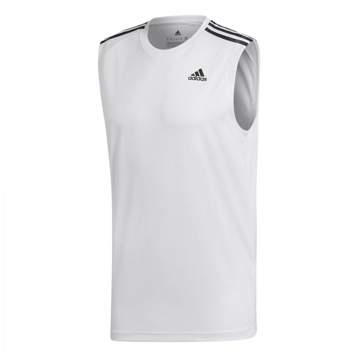 1e48d2e2f30 Regata Adidas D2m 3-Stripes Masculina