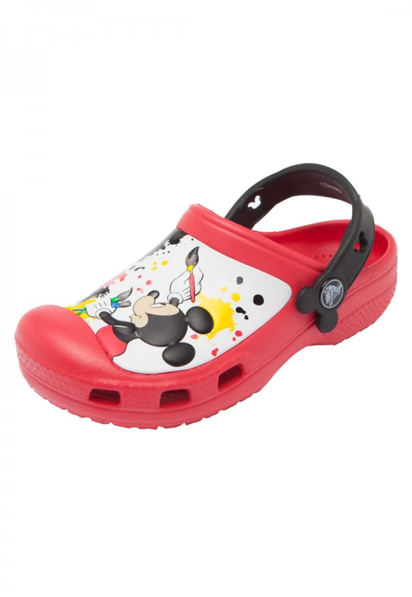 fa2deefb70 crocs infantil em promoção Sandália Crocs Infantil Mickey Paint Splat