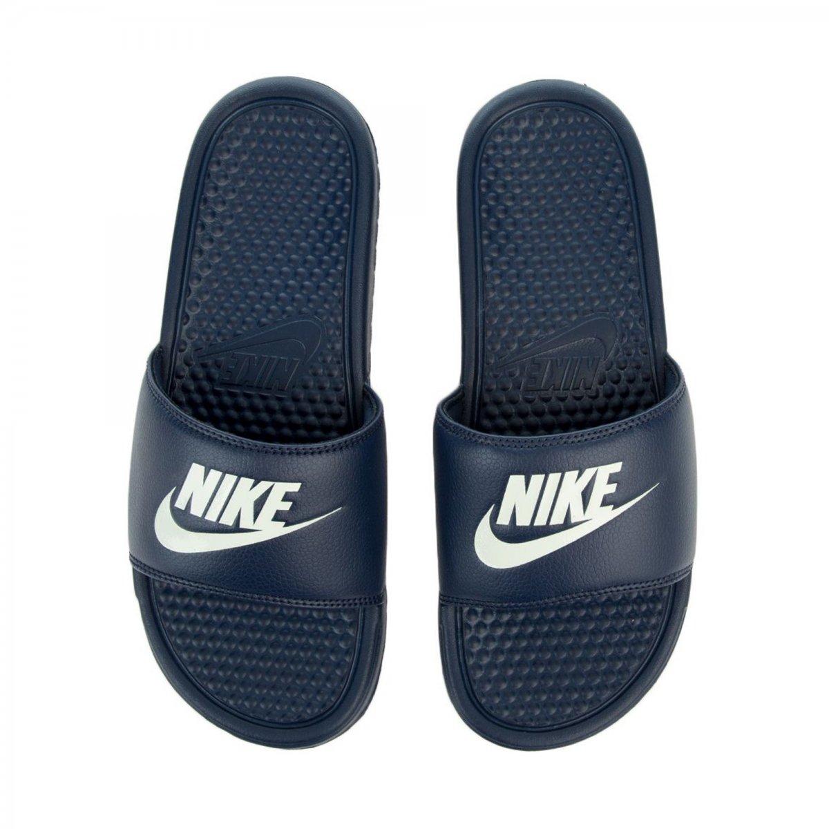 Sandália Nike Benassi Just Do It Masculino  27d9aaff1f9