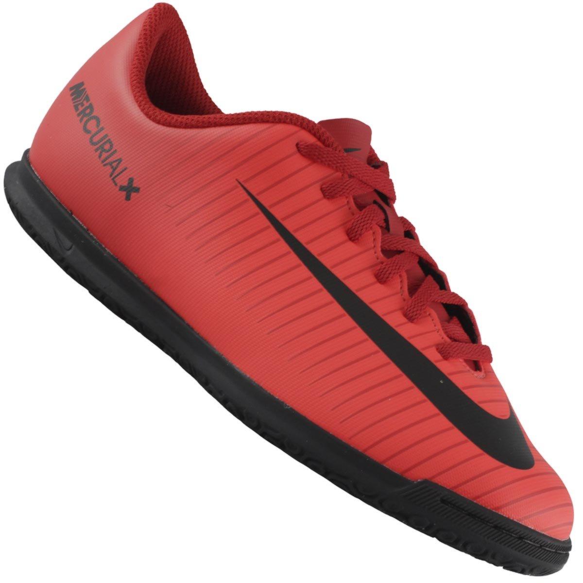 Tênis Futsal Nike Jr Mercurialx Vortex Iii Ic Infantil f92b49e29b377