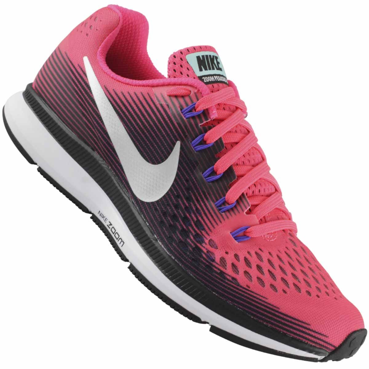 8629641955 Tênis Nike Air Zoom Pegasus 34 Feminino