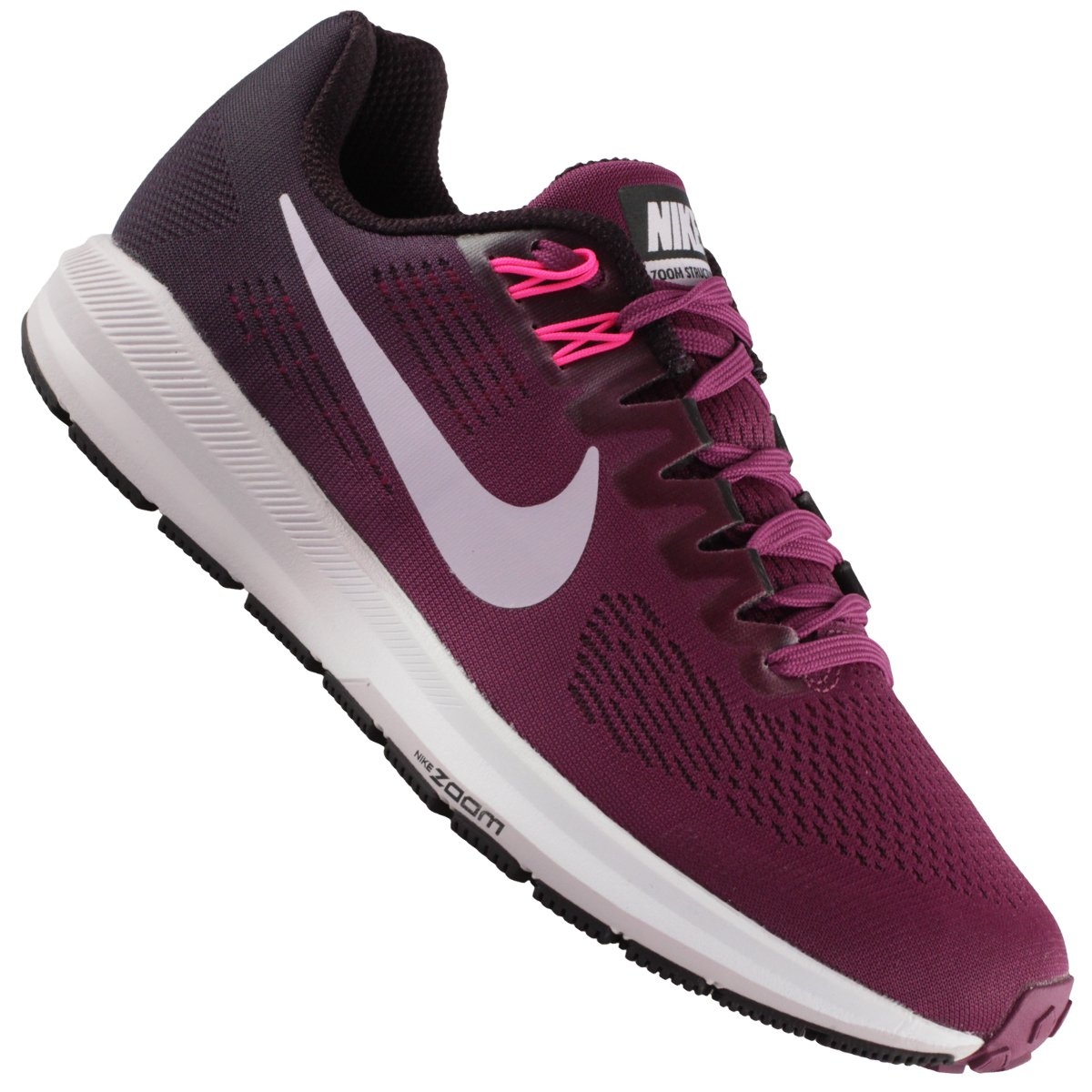 Tênis Nike Air Zoom Structure 21 Feminino  6eead62189cf3