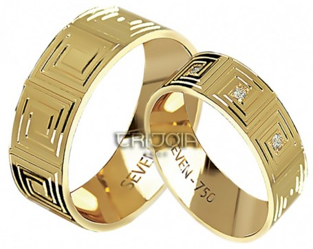 Aliança Seven Premium CAL1176/DAL1176 AU18K/750