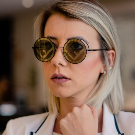 Óculos de Sol Fendi Fendirama