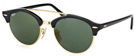Óculos de Sol Ray Ban Clubround Double Bridge