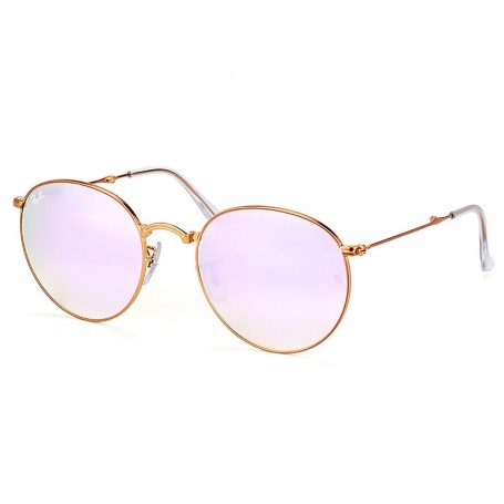 Óculos de Sol Ray Ban Round Metal Dobrável