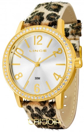 Relógio Lince Fashion Animal Print