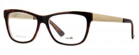 d8e30bb75ce8c Óculos de Grau - Gucci - Feminino - Cor da Armação  Tartaruga ...